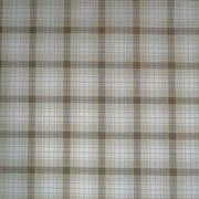Tissu carreaux marrons