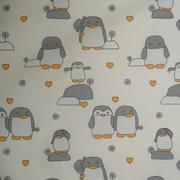 tissu pingouin
