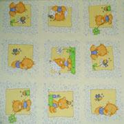 Petit ours et coeurs