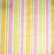 tissu rayé multicolore