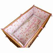 Tour de lit complet pour lit 60x140 en 150gr